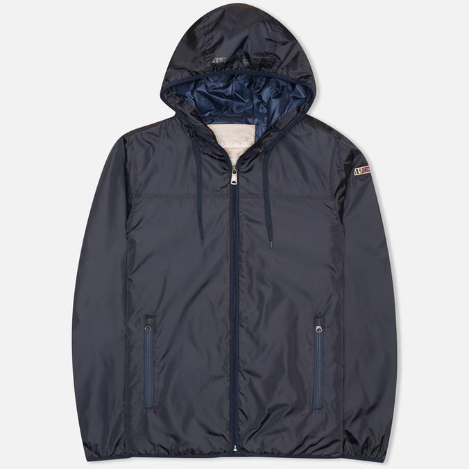 Мужская куртка ветровка Napapijri Avalon A Blue Marine
