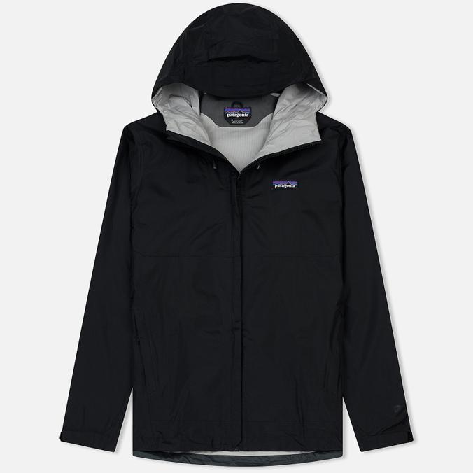 0a43b96e Мужская куртка ветровка Patagonia Torrentshell Black 83802-BLK