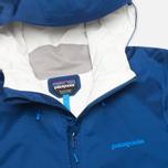 Мужская куртка ветровка Patagonia Torrentshell Channel Blue фото- 2
