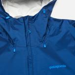 Мужская куртка ветровка Patagonia Torrentshell Channel Blue фото- 3