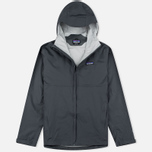 Мужская куртка ветровка Patagonia Torrentshell Forge Grey фото- 0