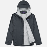 Мужская куртка ветровка Patagonia Torrentshell Forge Grey фото- 1