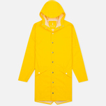 Мужская куртка дождевик Rains Long Jacket Yellow фото- 0
