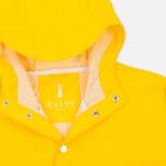 Мужская куртка дождевик Rains Long Jacket Yellow фото- 1