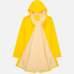 Мужская куртка дождевик Rains Long Jacket Yellow фото- 2
