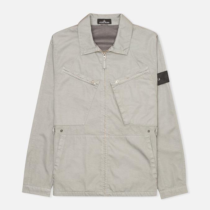 Мужская куртка ветровка Stone Island Shadow Project Blouson Grey