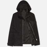 Мужская куртка ветровка Stone Island Shadow Project Raso-R Black фото- 1