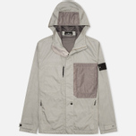 Мужская куртка ветровка Stone Island Shadow Project Raso-R Grey фото- 0