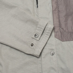 Мужская куртка ветровка Stone Island Shadow Project Raso-R Grey фото- 5