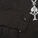 Мужская куртка ветровка Stussy Player Coaches Black фото- 3