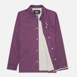 Мужская куртка ветровка Stussy Player Coaches Purple фото- 1