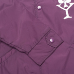 Мужская куртка ветровка Stussy Player Coaches Purple фото- 3