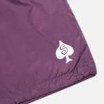 Мужская куртка ветровка Stussy Player Coaches Purple фото- 4