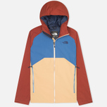 Мужская куртка ветровка The North Face Stratos Moab Khaki/Dish Blue/Brick Red фото- 0