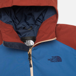 Мужская куртка ветровка The North Face Stratos Moab Khaki/Dish Blue/Brick Red фото- 2