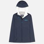 Женская куртка ветровка Patagonia Torrentshell Navy Blue фото- 0