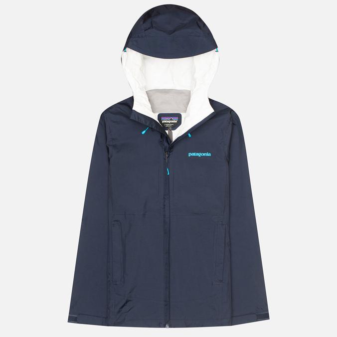 Женская куртка ветровка Patagonia Torrentshell Navy Blue