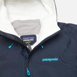 Женская куртка ветровка Patagonia Torrentshell Navy Blue фото- 2