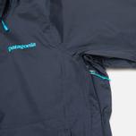 Женская куртка ветровка Patagonia Torrentshell Navy Blue фото- 5