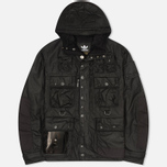 Мужская вощеная куртка adidas Originals x Barbour GSG Baradi Nein Black фото- 0
