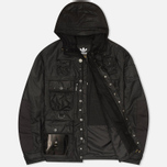 Мужская вощеная куртка adidas Originals x Barbour GSG Baradi Nein Black фото- 1