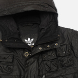 Мужская вощеная куртка adidas Originals x Barbour GSG Baradi Nein Black фото- 2