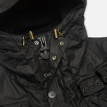 Мужская вощеная куртка adidas Originals x Barbour GSG Baradi Nein Black фото- 3
