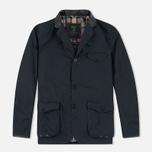 Мужская вощеная куртка Barbour Dept. (B) Beacon Sports Navy фото- 0
