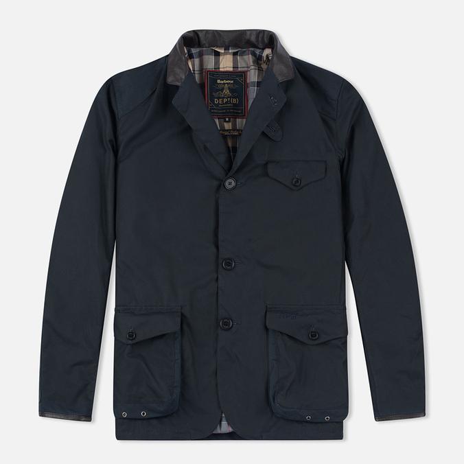 Мужская вощеная куртка Barbour Dept. (B) Beacon Sports Navy