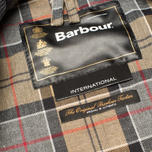 Мужская вощеная куртка Barbour International Original Waxed Black фото- 9