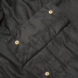 Мужская вощеная куртка Barbour International Original Waxed Black фото- 8