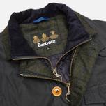 Мужская вощеная куртка Barbour Kempt Wax Navy фото- 2