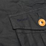Мужская вощеная куртка Barbour Kempt Wax Navy фото- 5
