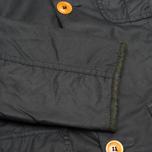 Мужская вощеная куртка Barbour Kempt Wax Navy фото- 6
