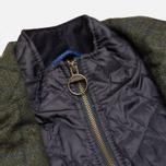 Мужская вощеная куртка Barbour Kempt Wax Navy фото- 4