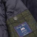Мужская вощеная куртка Barbour Kempt Wax Navy фото- 7