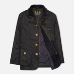 Мужская вощеная куртка Barbour Kempt Wax Navy фото- 1