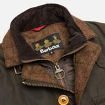 Мужская вощеная куртка Barbour Kempt Wax Olive фото- 2