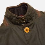 Мужская вощеная куртка Barbour Kempt Wax Olive фото- 3