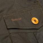 Мужская вощеная куртка Barbour Kempt Wax Olive фото- 5