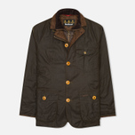 Barbour Kempt Wax Men's Waxed Jacket Olive photo- 0