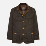 Мужская вощеная куртка Barbour Kempt Wax Olive фото- 0