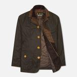 Мужская вощеная куртка Barbour Kempt Wax Olive фото- 1