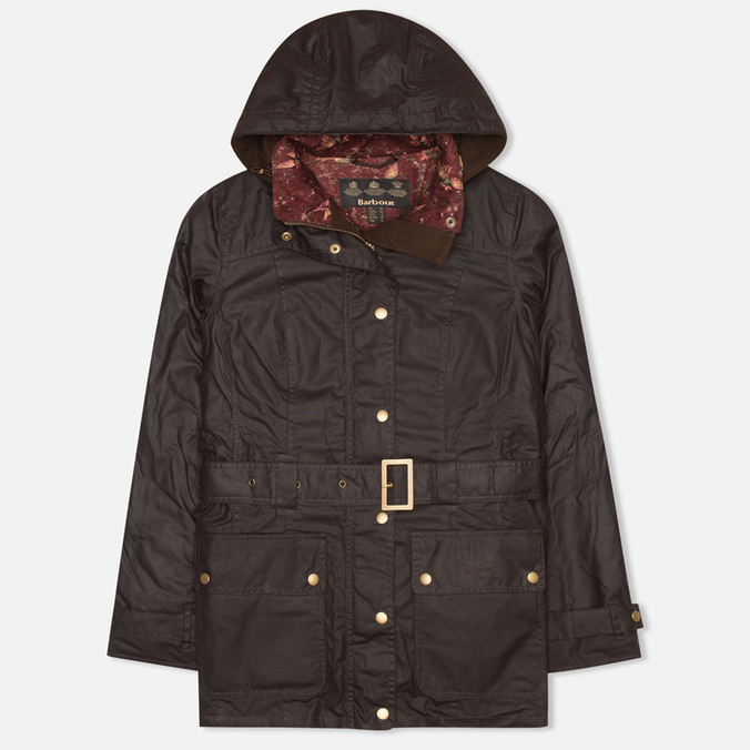 Barbour Bower Belted Women's Jacket Rustic