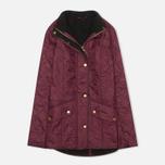 Женская стеганая куртка Barbour Cavalry Polarquilt Bordeaux фото- 0