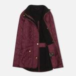 Женская стеганая куртка Barbour Cavalry Polarquilt Bordeaux фото- 1
