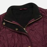 Женская стеганая куртка Barbour Cavalry Polarquilt Bordeaux фото- 3