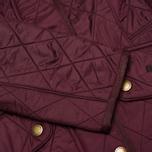 Женская стеганая куртка Barbour Cavalry Polarquilt Bordeaux фото- 4
