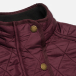 Женская стеганая куртка Barbour Cavalry Polarquilt Bordeaux фото- 2