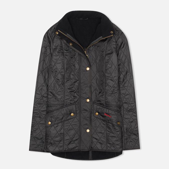 Женская стеганая куртка Barbour Cavalry Polarquilt Navy